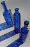 Blue Bottles photographed by Faye White