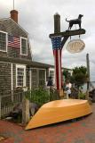 The original Black Dog Cafe and Restaurant in Vineyard Haven, Martha's Vineyard.