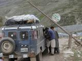 Exiting the Deosai National Park