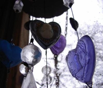 Violet, Victorian Wind Chime