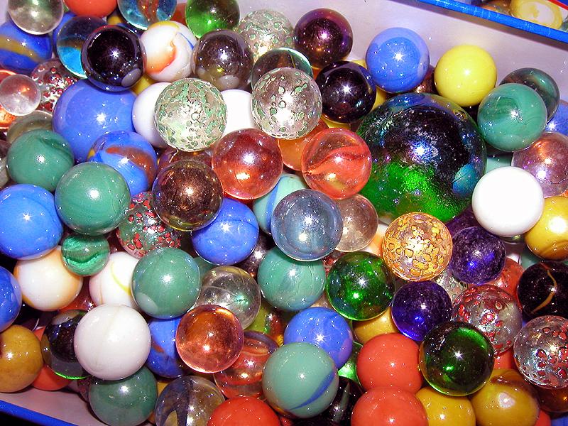 Found My Marbles!