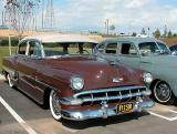 1954 chevy Bel Air - 2nd Walmart show March 1, 2003