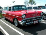 1957 Chev Bel Air Station wagon (not a Nomad) - 2nd Walmart show March 1, 2003
