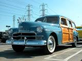 1950 Plymouth Woodie - 2nd Walmart show March 1, 2003