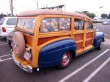 Ford woodie  - donut derelicts Sat. morn. meet, Huntington Beach, CA