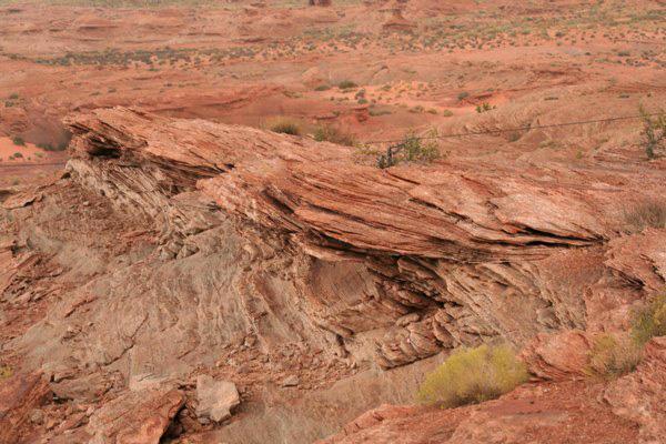 Red rock Glen canyon
