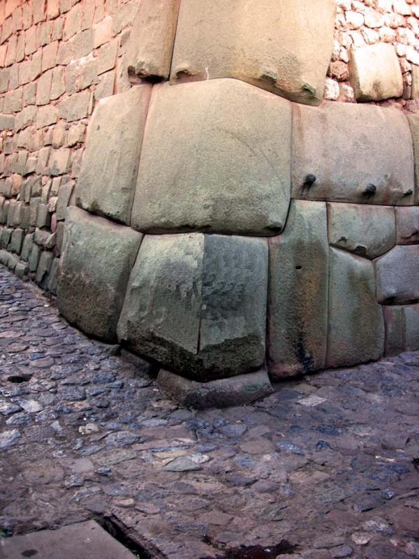 Cusco wall Peru.