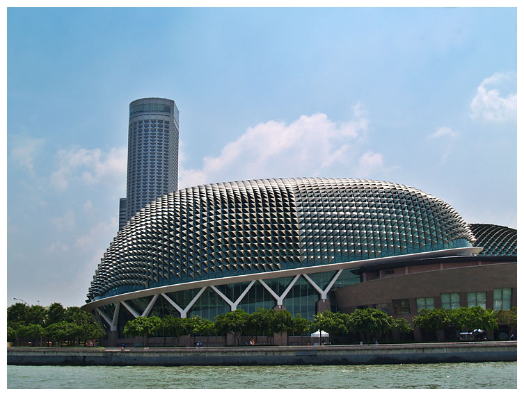The Famous Giant Singapore Durian Structure