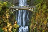 Multnomah Falls, along the Columbia River