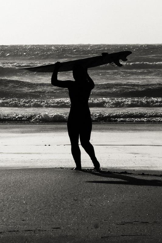 Jun 4: Surfer girl