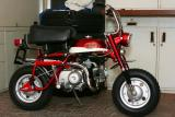 Candy Red/White 1970-71 Honda Minitrail Z50AK2 Gallery RESTORED & DETAILED