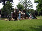 Swings and ladders