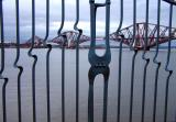 S Queensferry  - Fence and Bridge
