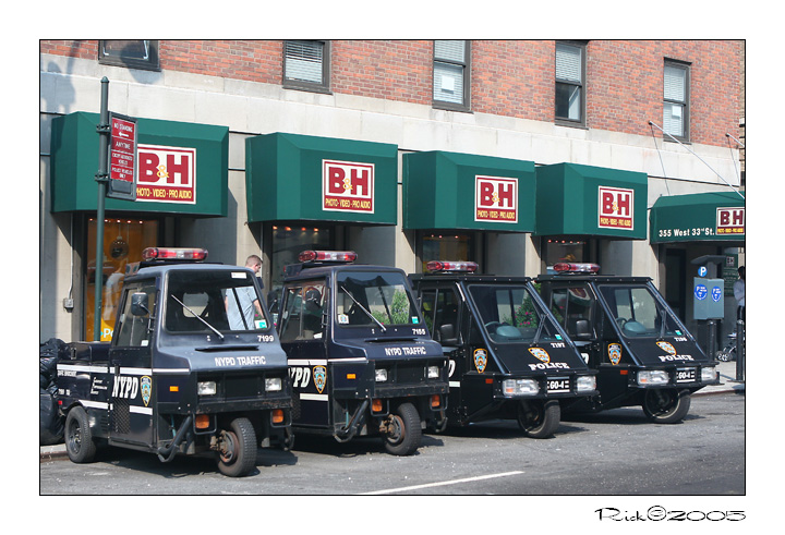 NYPD OR B&H VIDEO
