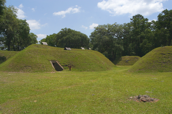 Earthworks, with Magazine Entrance, Fort McAllister