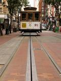 Cable Car From Street Level