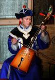 HorseHead Mongolian Instrument Called Morin Khour
