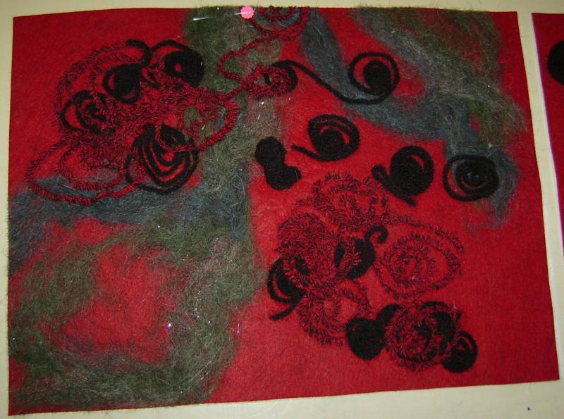 Embellished Purse Front Panel