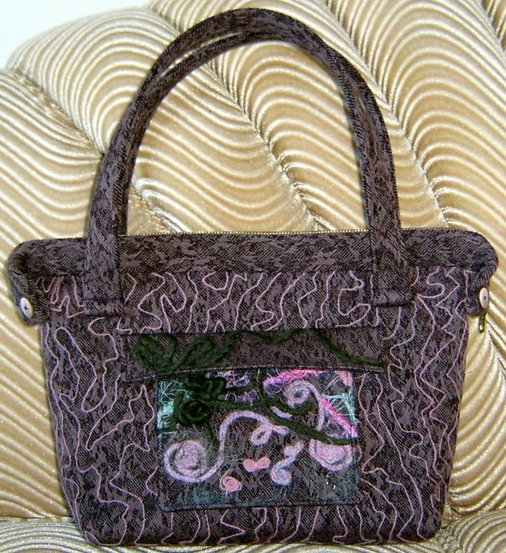 Mauve Purse Side II