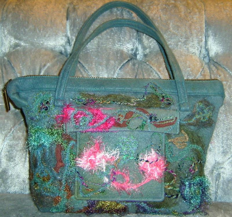 Waterlily Bag Front