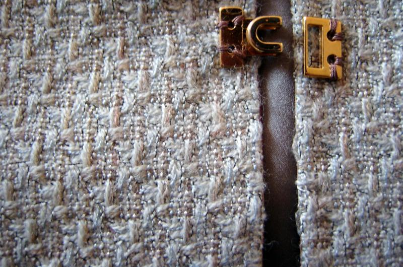 Fabric and Hook Close Up