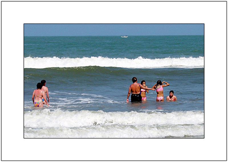 Bocagrande Beach Life