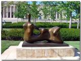 Nelson-Atkins Museum Of Art, Henry Moore Sculpture
