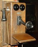 Old telephone in the Bonavista Museum
