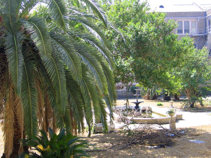 Ursuline Inner Courtyard