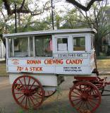 The Candy Man Along St. Charles Avenue