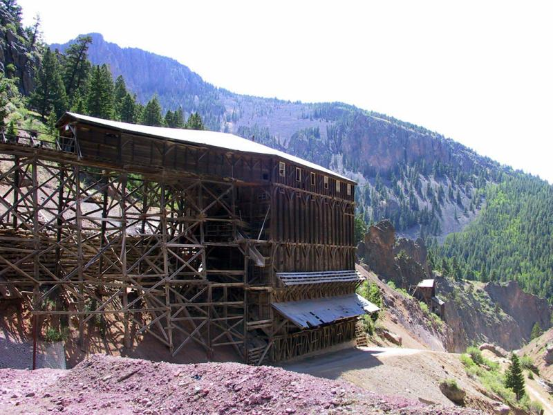 Commodore Mine, Silver Ore Production Spanned From 1891-1976, Creede CO