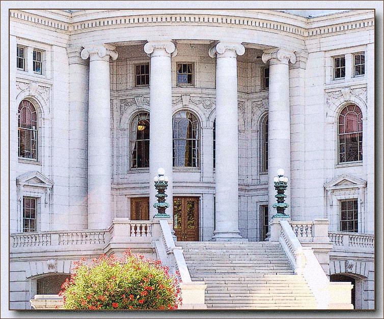 doorway to the capitol