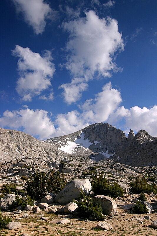 Afternoon Clouds - Eastern Sierra