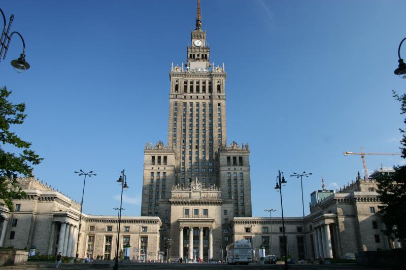 Palace of Culture and Science - Stalins gift to Poland in 1955...