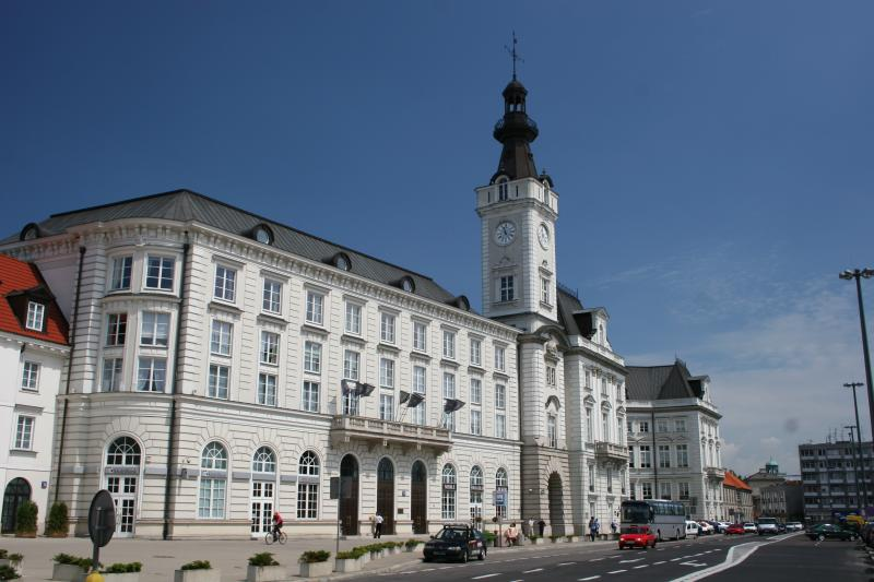 Jablonowski Palace - the former Town Hall of Warsaw