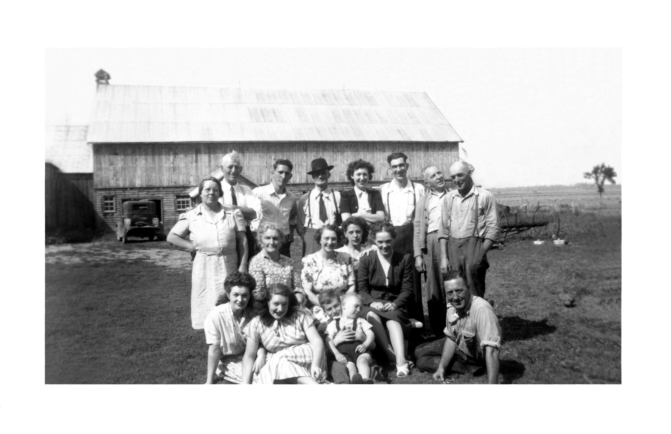 Johnston Family Weekend - 1948