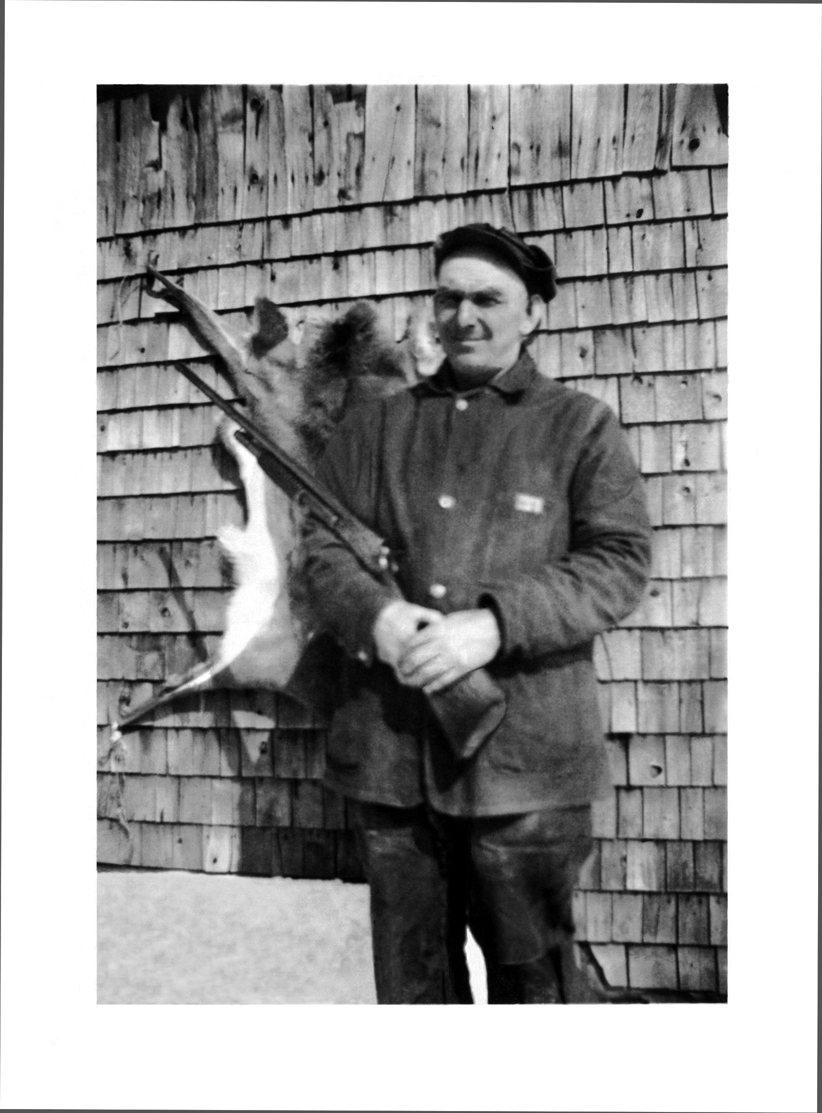 Uncle Alvie with Marlin model 24 Shotgun