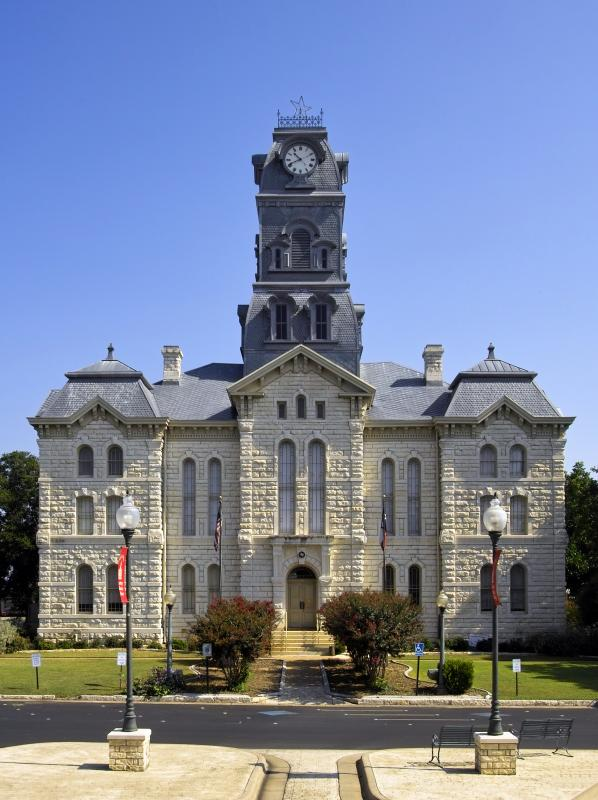 Hood County Court House - First Place Award Winning Photograph