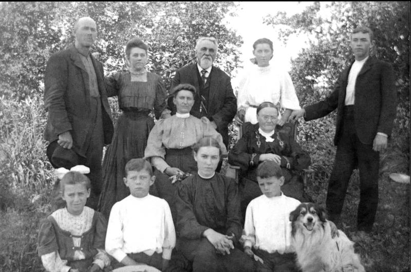Uncle Attie and Family ca. 1905