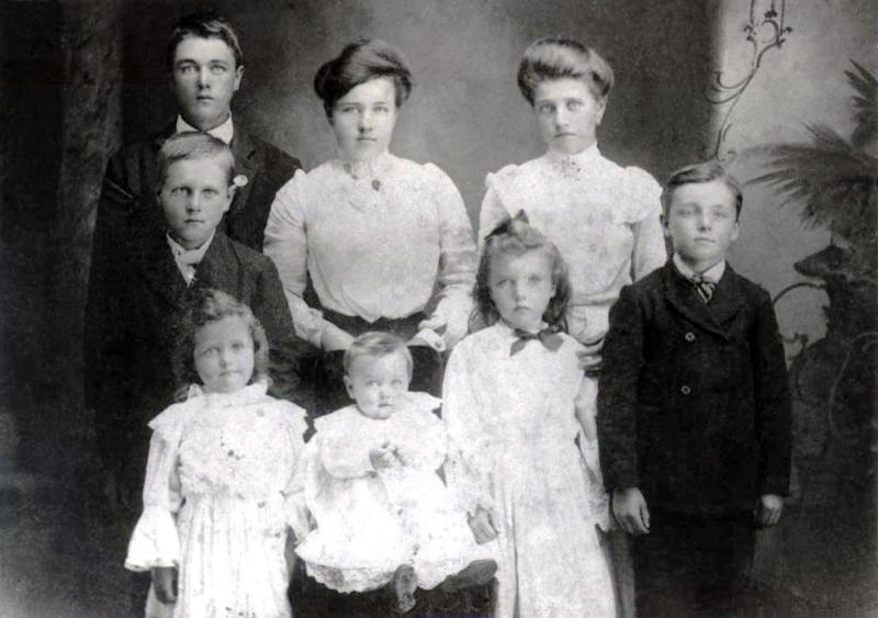 Children of Christopher Colin Johnston 1904