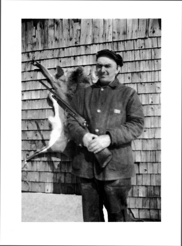 Uncle Alvie with Marlin model 24 Shotgun