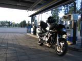 20:18 - More gasoline - 581 km