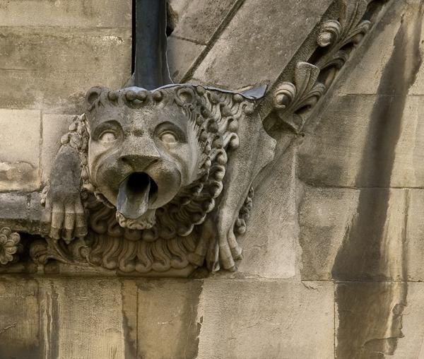 Gargoyle, Westminster Abbey, London