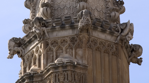 Carvings, Westminster Abbey, London
