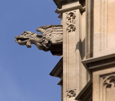 Carving, Parliment Building, London