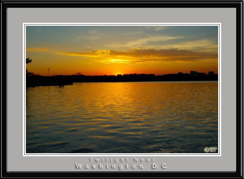 Twilight near Washington, D.C.