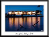 Night shot of Kennedy Center, Washington, D. C.