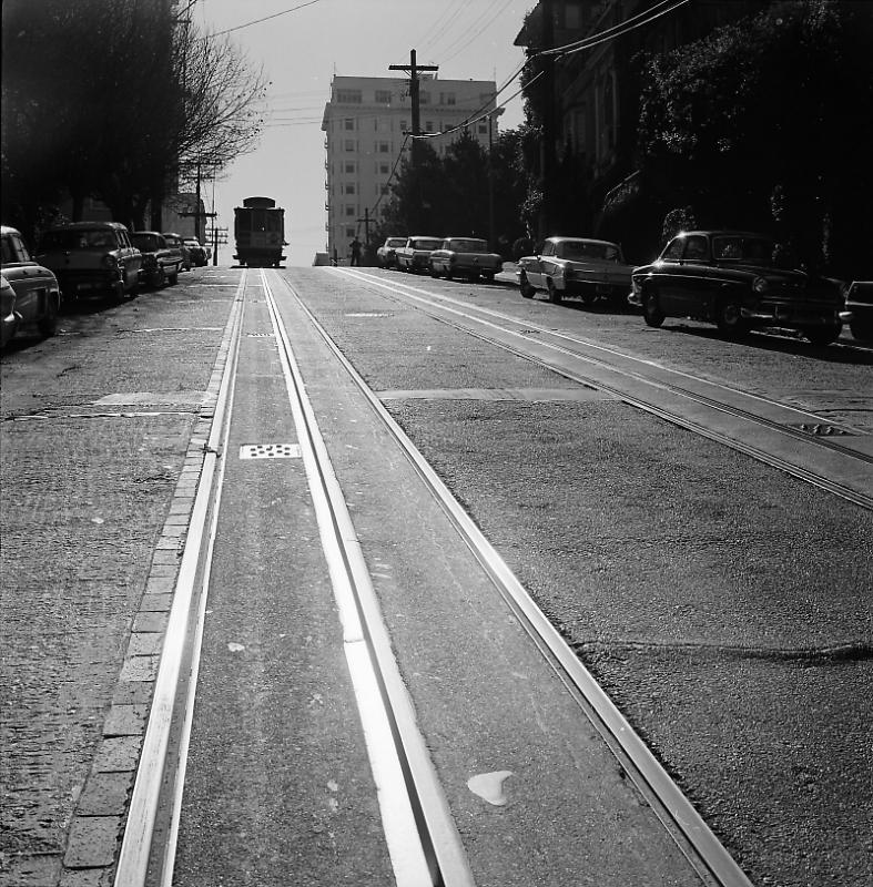 Hyde Street Cable Car - 1964