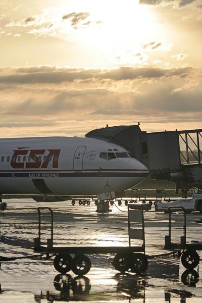 CSA 737 at Zurich