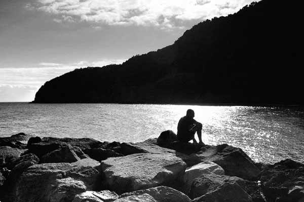 Contemplation at Ribeira Quente - S.Miguel